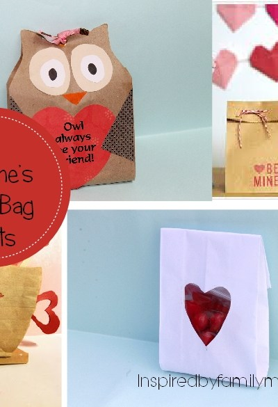 Valentine's Day Paper Bag Crafts