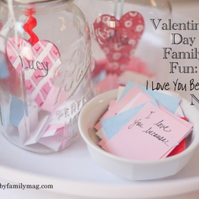 Valentines Family Fun: Love Notes