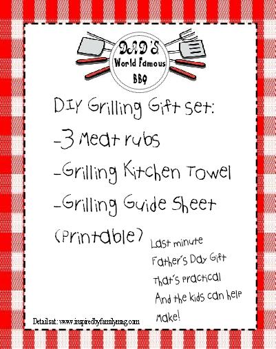 diy grilling gift set