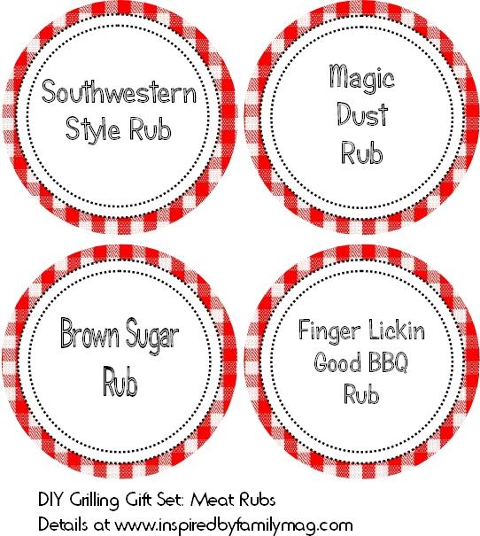4 meat rubs recipes