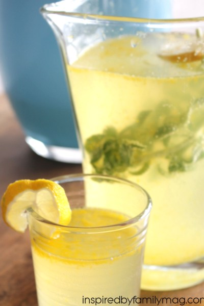 Minty Lemonade Punch