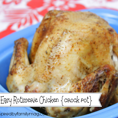 How to Make a Rotisserie Chicken in the Crock Pot