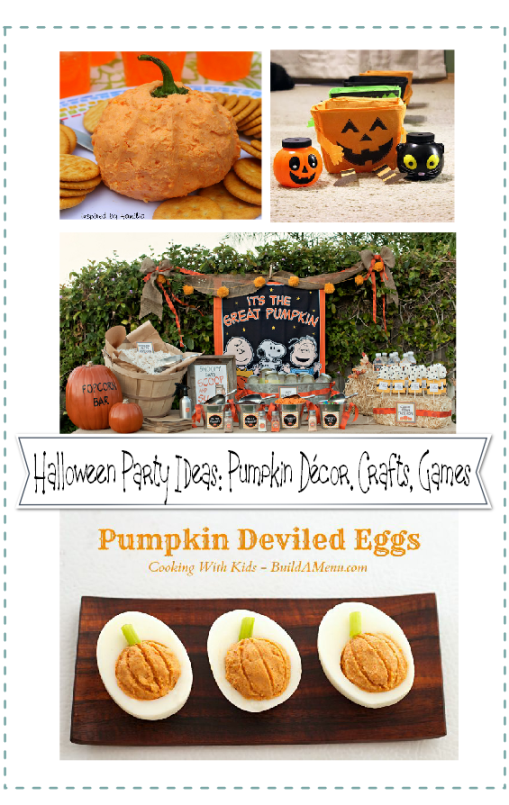 Halloween pumpkin party ideas