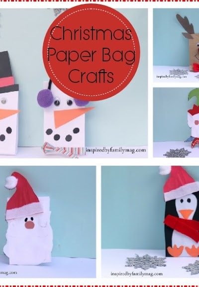 Christmas Paper Bag Crafts