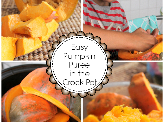 How to Make Pumpkin Puree in the Crock Pot