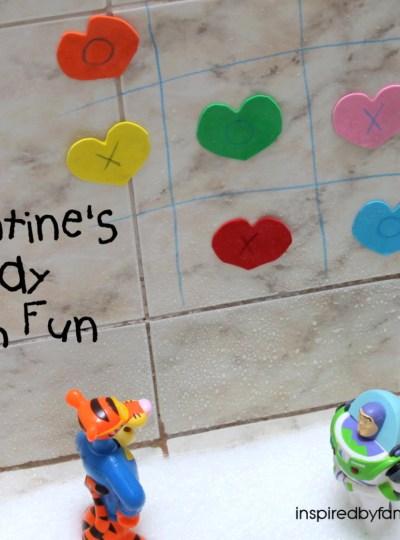 Valentine's Day Kid Activity: Bath Fun