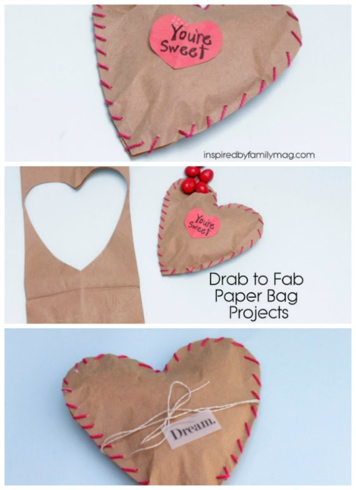 valentines day bag treats