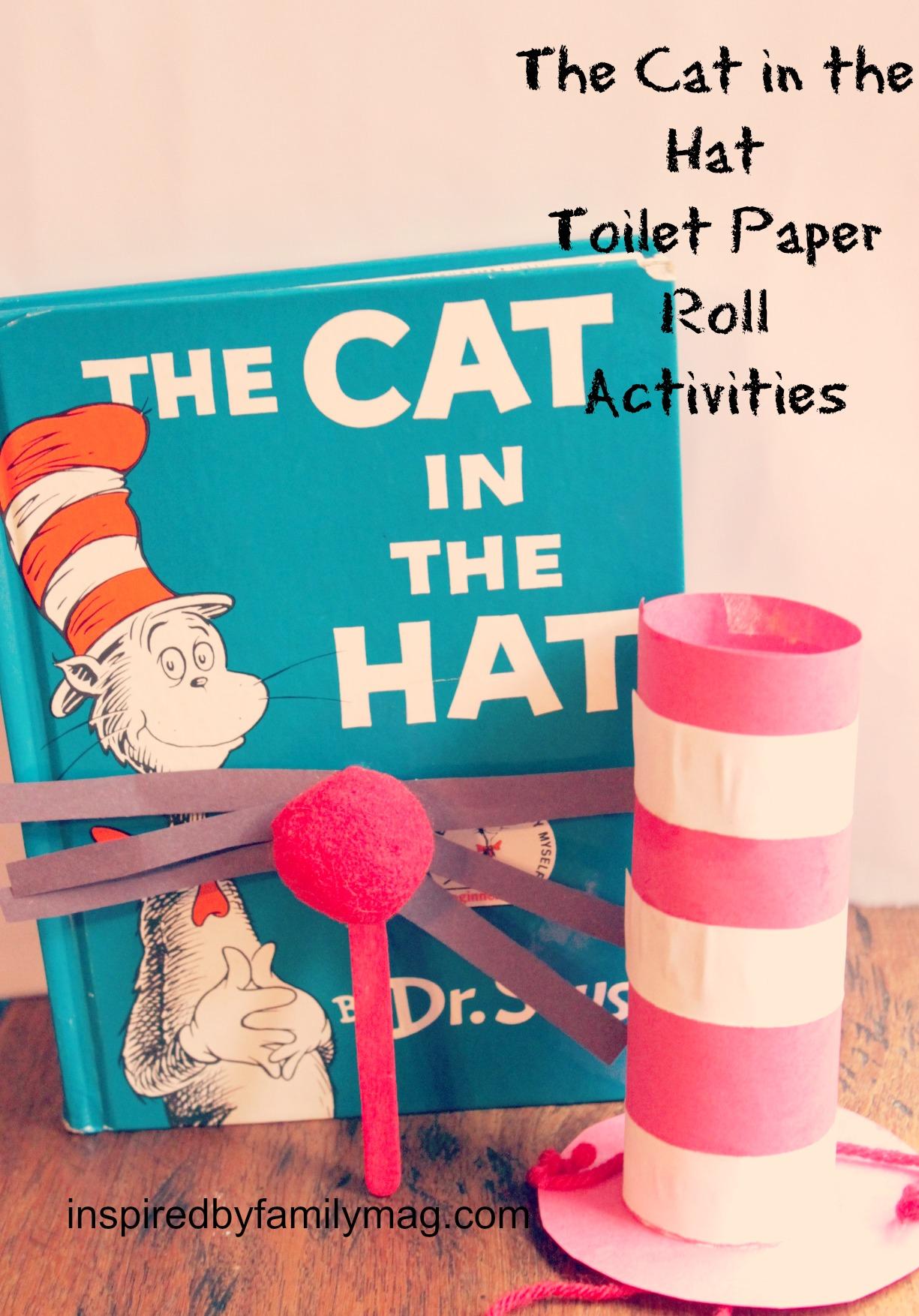 Dr Seuss Toilet Paper Roll Craft