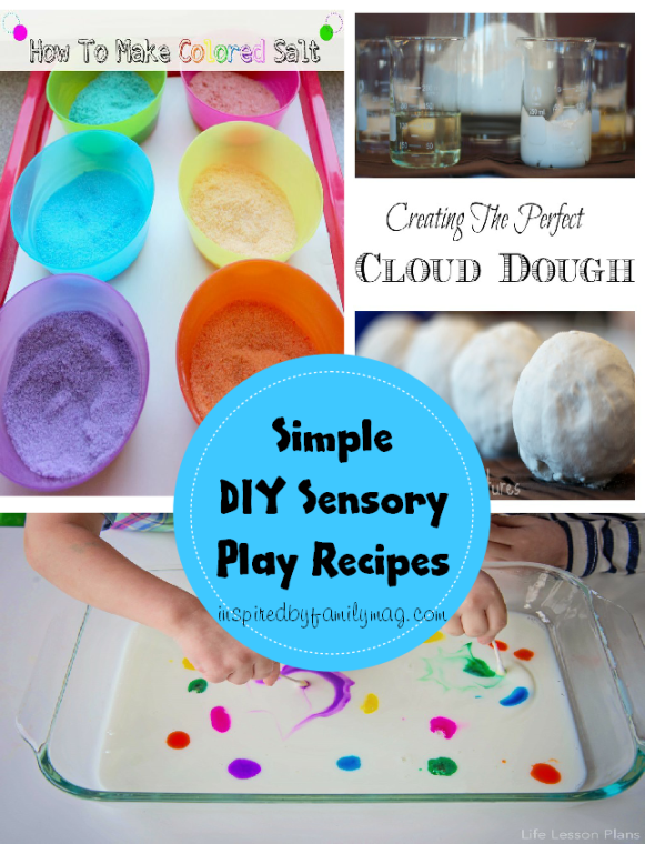 simple diy sensory play recipes