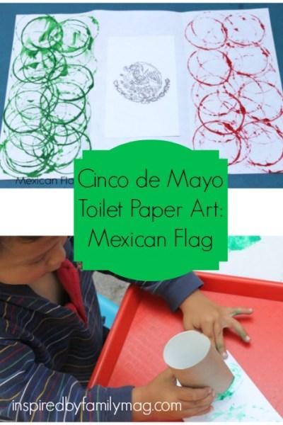 Cinco De Mayo Activity: Mexican Flag Art
