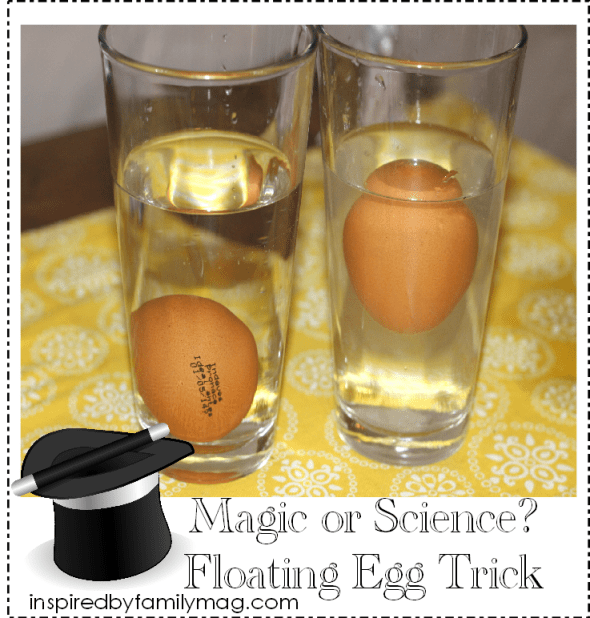floating egg trick