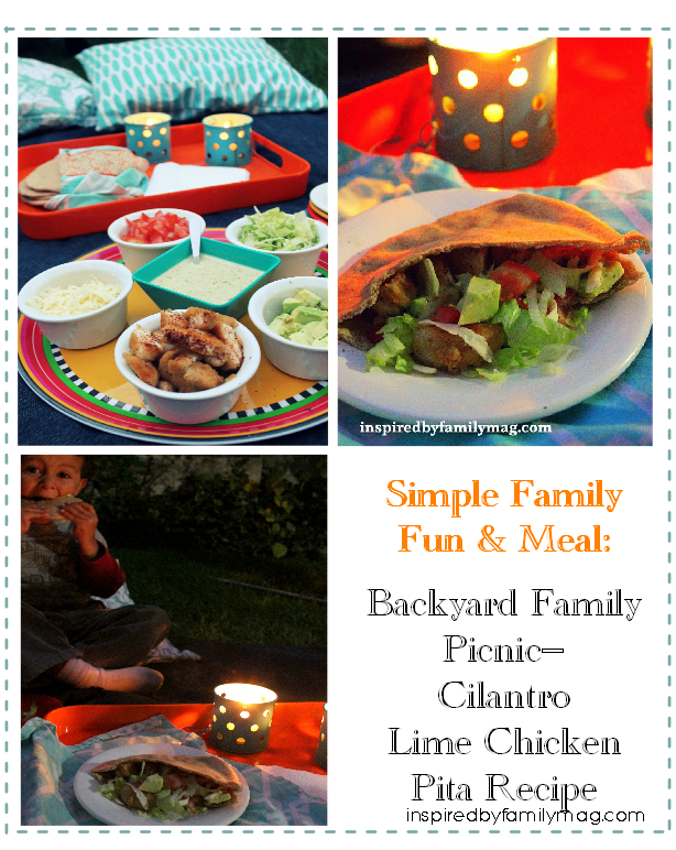backyard family picnic idea