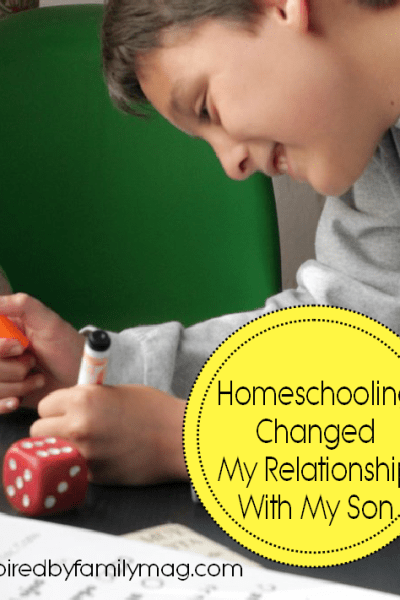 Homeschooling Changed My Relationship with My Son