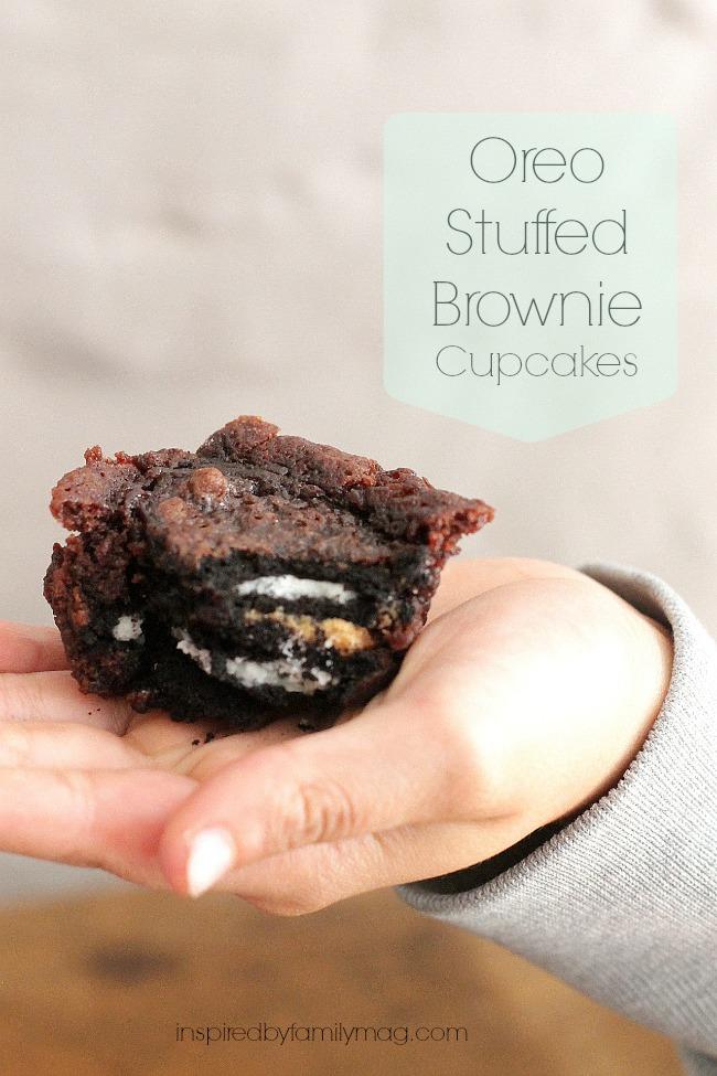 oreo stuffed brownies 2