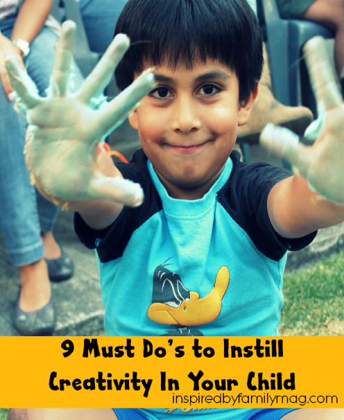 foster creativity in our kids