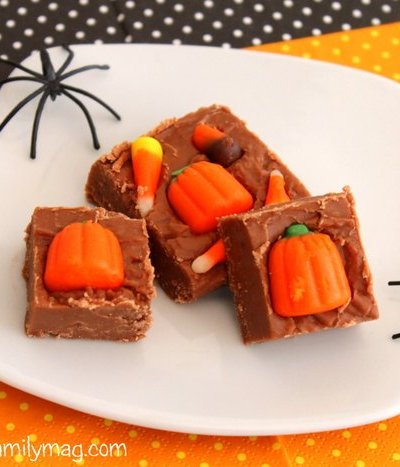 Halloween Chocolate Fudge