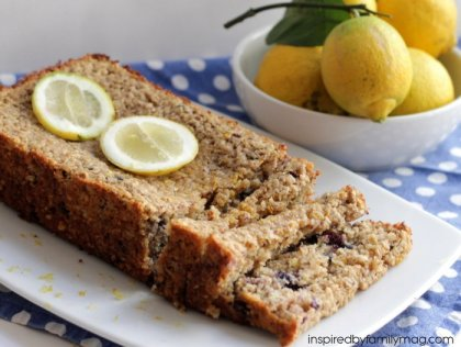 lemon blueberry bread healthy