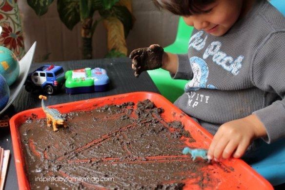 mud alphabet activity