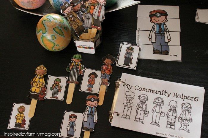community helpers activities