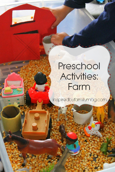 Preschool Activities: Farm