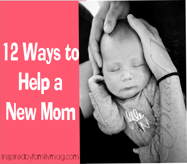help a new mom tips