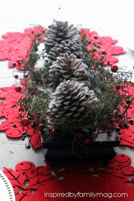 diy christmas center piece