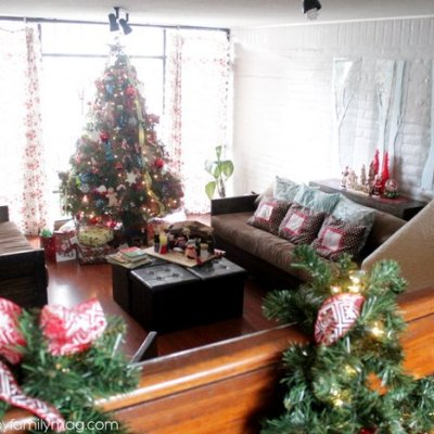 Magical but Simple Christmas Decor on a Budget