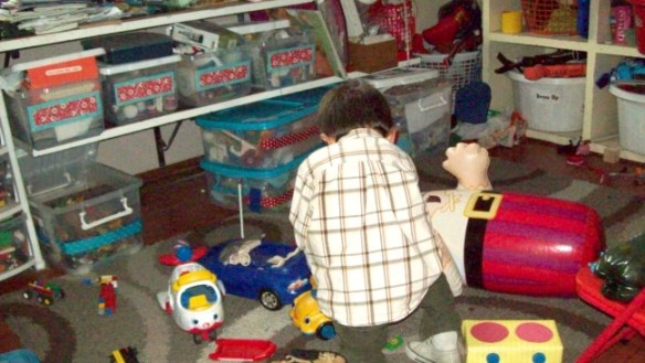decluttering toys for charity