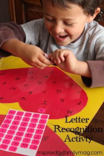 Educational Activity for Kids: Letter Recognition Game