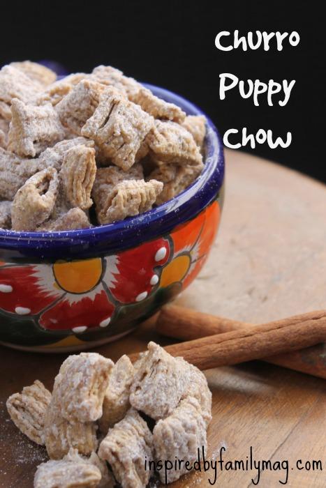 churro puppy chow
