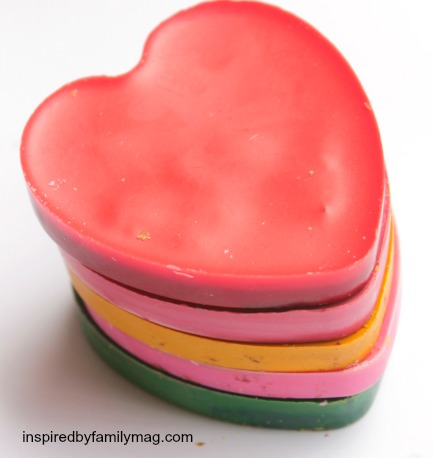 crayon hearts activity