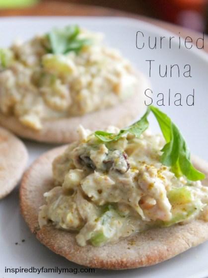 curried tuna salad