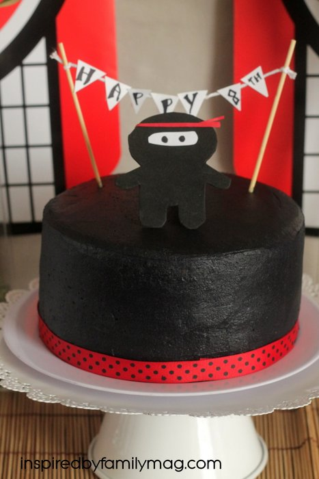 ninja cake