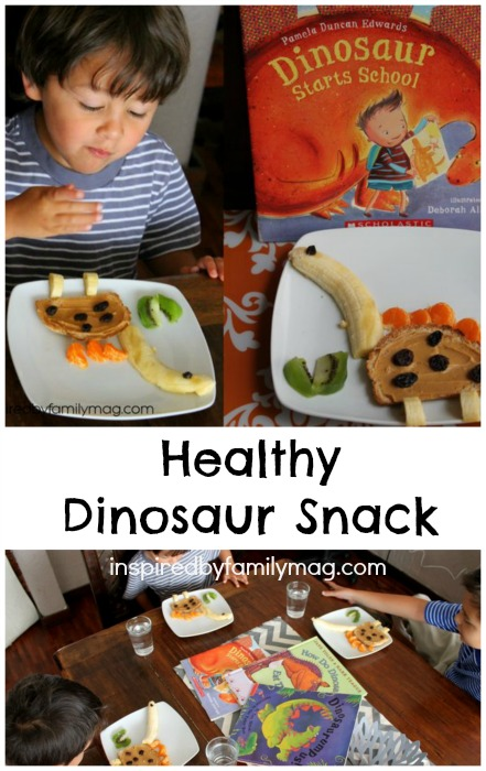dinosaur snack for kids