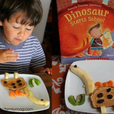 Healthy Fun Snack for Kids: Dinosaur