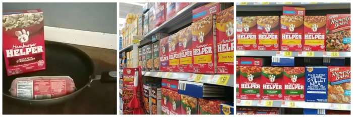 hamburger helper aisle