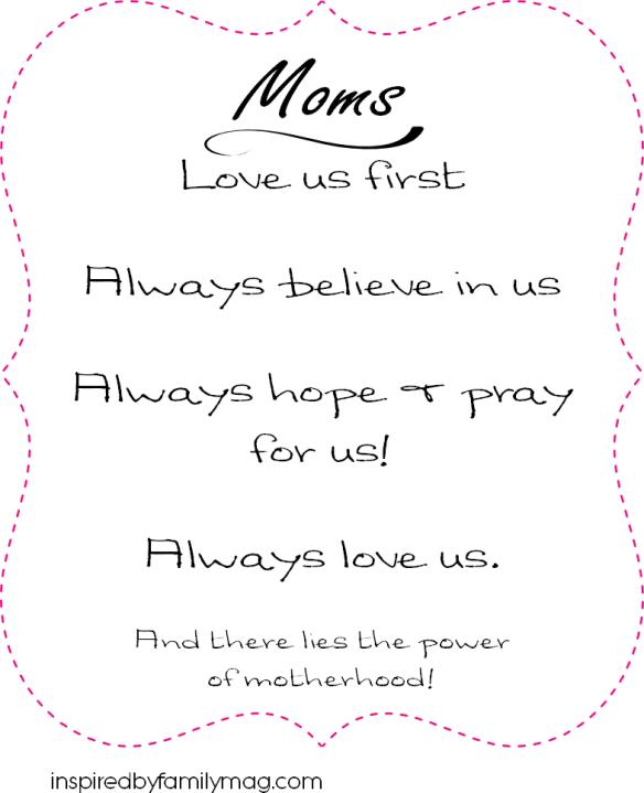 mom always quote