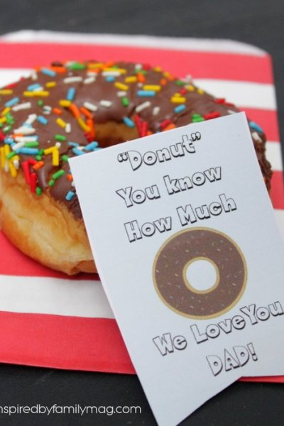 Donut You Know You're the Best Dad! Free Printable