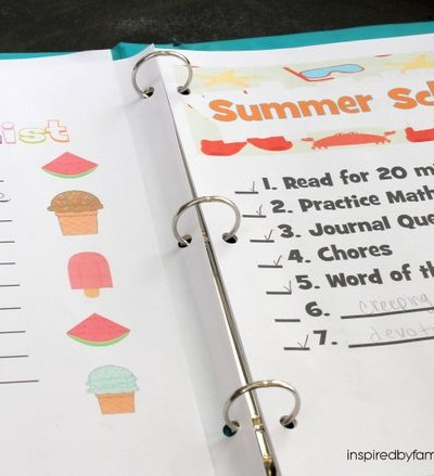 Summer Notebook: Intentional but Flexible Summer