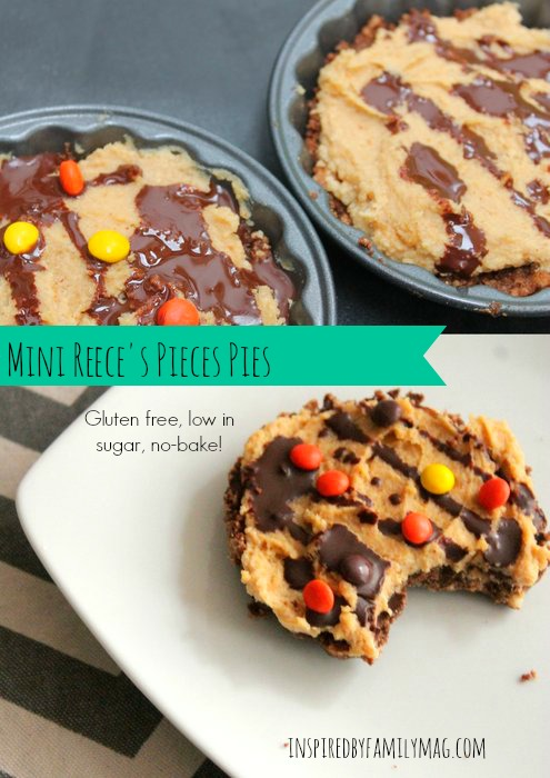mini reeces pieces pies
