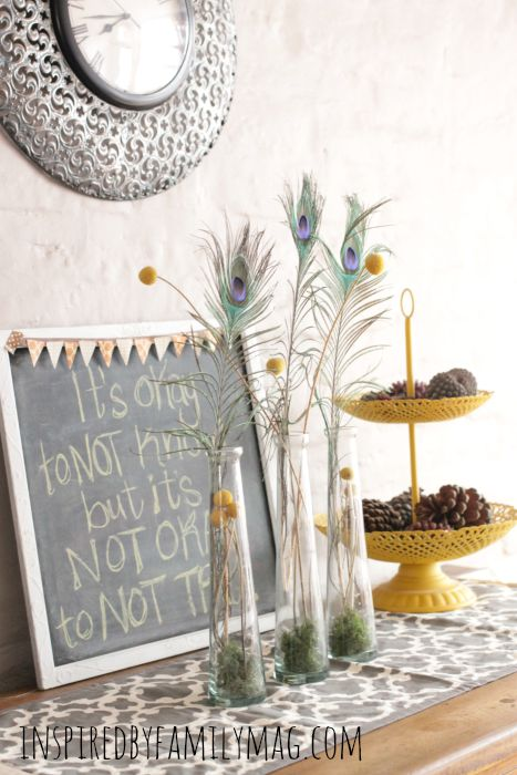 hutch fall decor