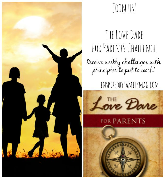 love dare for parents challenge