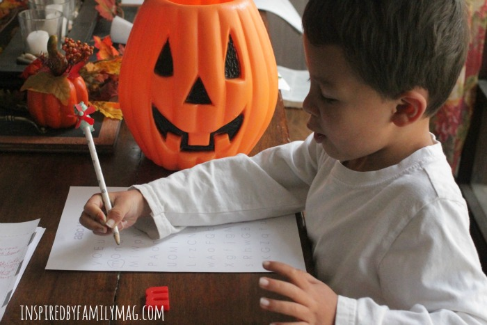 pumpkin letter search