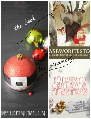 santa book and craft