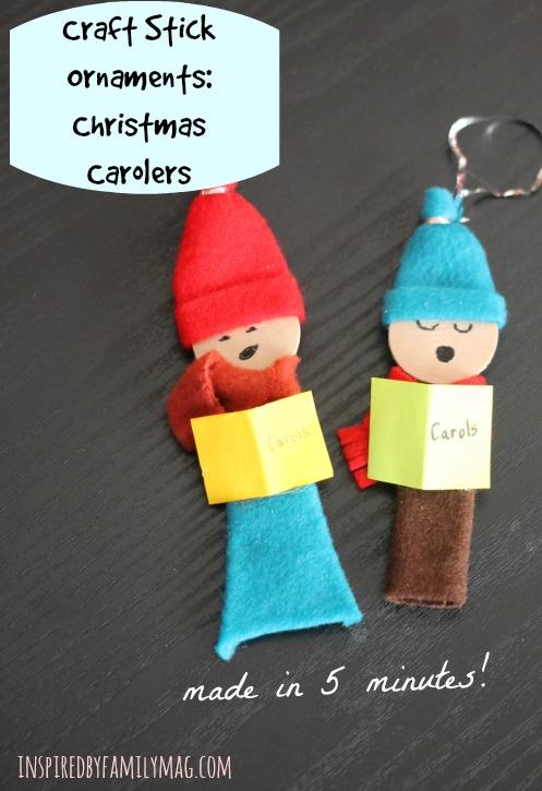 christmas carolers craft