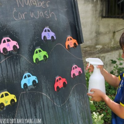 Fun Game to Learn the Numbers: Numbers Car Wash