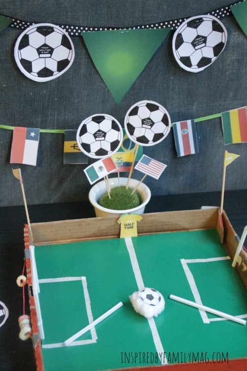 diy soccer game