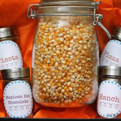 Father's Day Gift: Popcorn Kit & Recipes