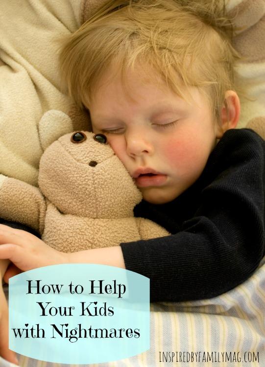 Sleeping child with teddy