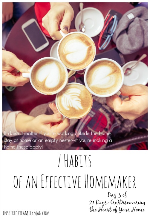 7-habits-of-a-homemaker